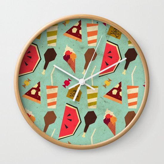Yummy! Wall Clock
