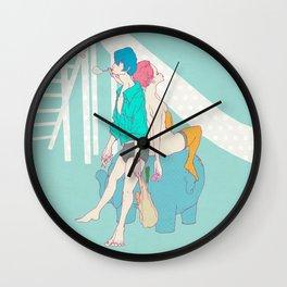 男なんてシャボン玉 Wall Clock