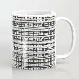 Abstract Net - Grey Coffee Mug