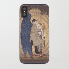 Angelic Intervention (Dean Winchester is Saved) iPhone X Slim Case