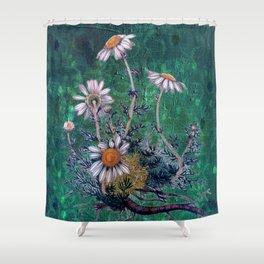 Roman Chamomile Shower Curtain
