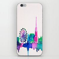 vienna iPhone & iPod Skins featuring Vienna by Talula Christian