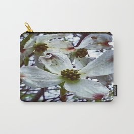 Dogwood Blossoms in the Rain Carry-All Pouch