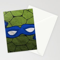 the blue turtle Stationery Cards