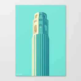 San Francisco Towers - 02 - COIT Tower Canvas Print