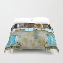 Clothes Drying Duvet Cover