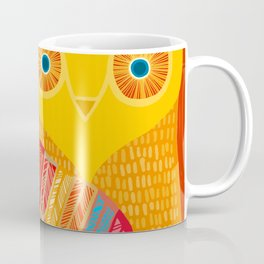 Terracotta Owl Coffee Mug