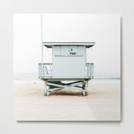 Bach Tower Metal Print