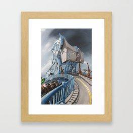 Johnson Street Bridge Framed Art Print