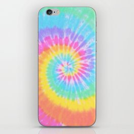 Rainbow Tie Dye iPhone Skin