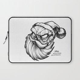 Santa Skully Laptop Sleeve