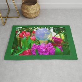The Crystal Ball Oil Painting  Rug