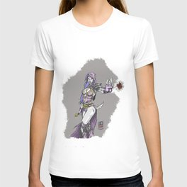 Dark sorceress by AngeloPeluso T-shirt