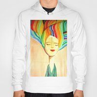 grace Hoodies featuring grace by sylvie demers
