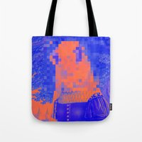 furry Tote Bags featuring Furry Streets by Tyler Spangler