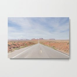 Forest's Road Metal Print