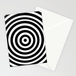 Circle Illusion Stationery Cards