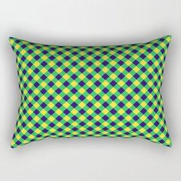 Gingham - Healthy Garden Rectangular Pillow