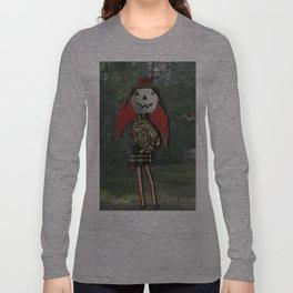 pumpkin girl Long Sleeve T-shirt
