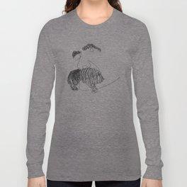 Nietzsche Talking Long Sleeve T-shirt