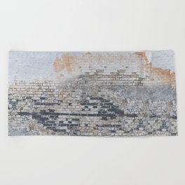 Old Bricks Beach Towel