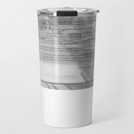 Desiderata on Kismet Travel Mug