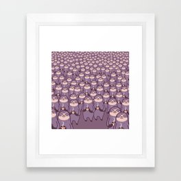 Sloths -tastic! Framed Art Print