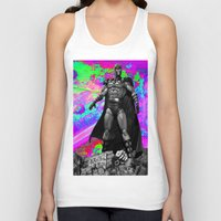 magneto Tank Tops featuring Magneto by Lord Rocco