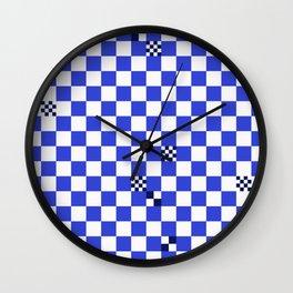 The tiler's odd sense of humor  Wall Clock