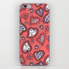 Love & heart iPhone & iPod Skin