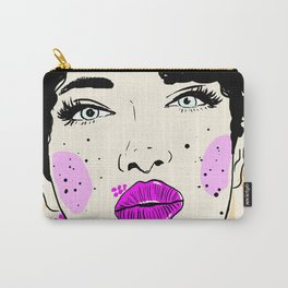 JUST A FACE Carry-All Pouch