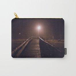 Foggy Footbridge Carry-All Pouch