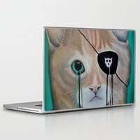 furry Laptop & iPad Skins featuring Kit Furry by Prince Pat