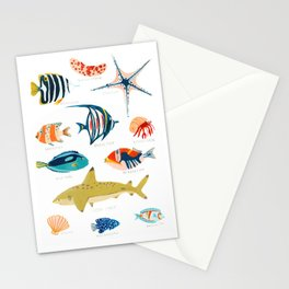 Sea Life of Fiji Stationery Cards