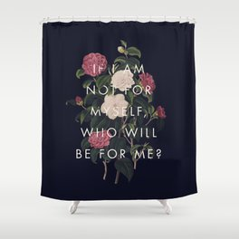 The Theory of Self-Actualization I Shower Curtain