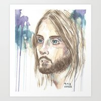 jared leto Art Prints featuring Leto by SirScm