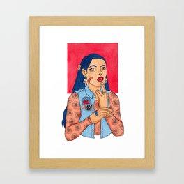 Girlfriend Framed Art Print