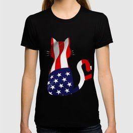 Usa Cat T-shirt