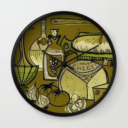 My Mid-Century Kitchen Wall Clock