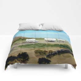 Travels with Kids Oregon Trail Theme Comforters