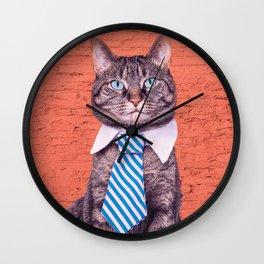 the stylish cat Wall Clock