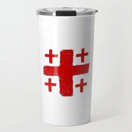 Jerusalem Cross 5 Travel Mug