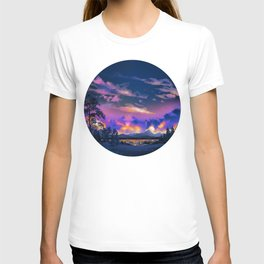 Night Sky Sunset T-shirt