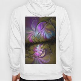 Come Together, Abstract Fractal Art Hoody
