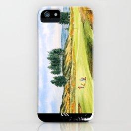 Gleneagles Kings Golf Course Scotland iPhone Case
