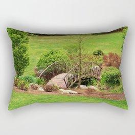 Small Arched Bridge Rectangular Pillow