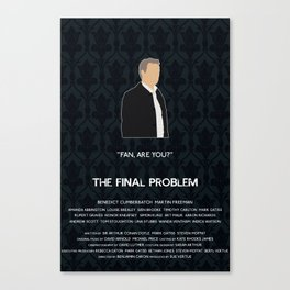 The Final Problem - Greg Lestrade Canvas Print