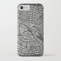 tree rings iPhone & iPod Cases featuring Tree Rings by Tanya Harrison Photography