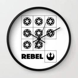 Rebel Wall Clock