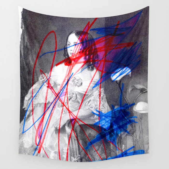 Strike 14 Wall Tapestry